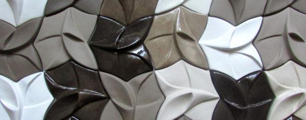 Авторская глазурованная керамическая плитка ручной работы КЕРАМИТА